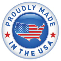 proudly made in the USA badge
